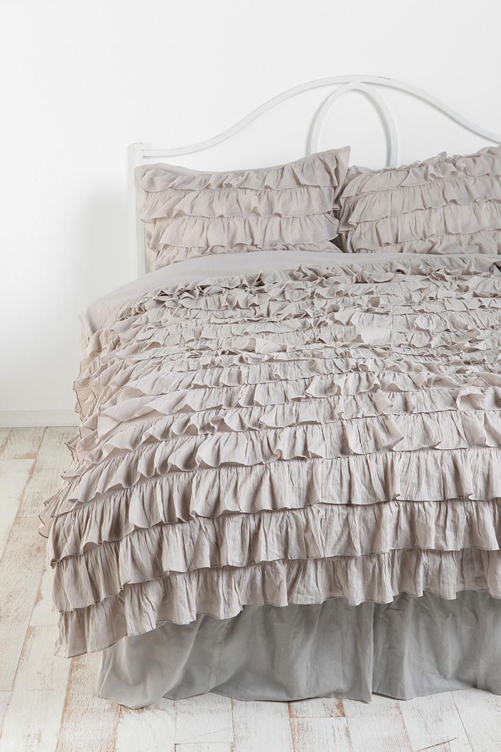 Ruffle Bedskirt Urban Outfitters Twin Xl And Ruffle Bedding