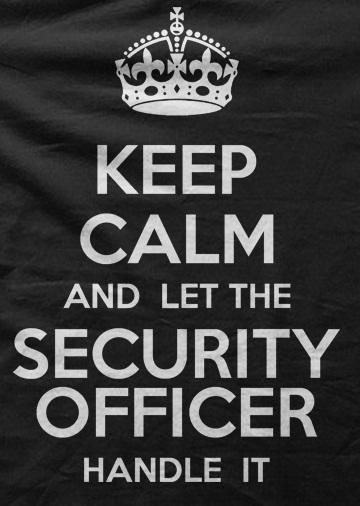 Security Guard Motto