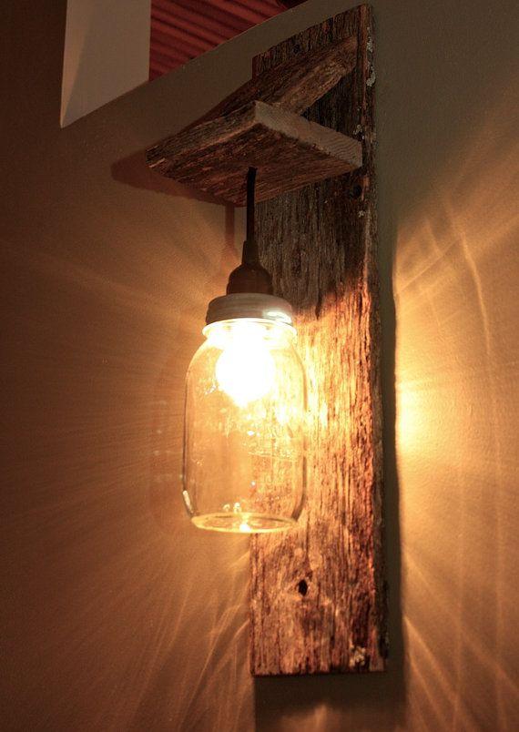 Fixtures Mason Jar Light