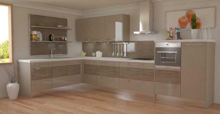 Contemporary Kitchen Unit Doors