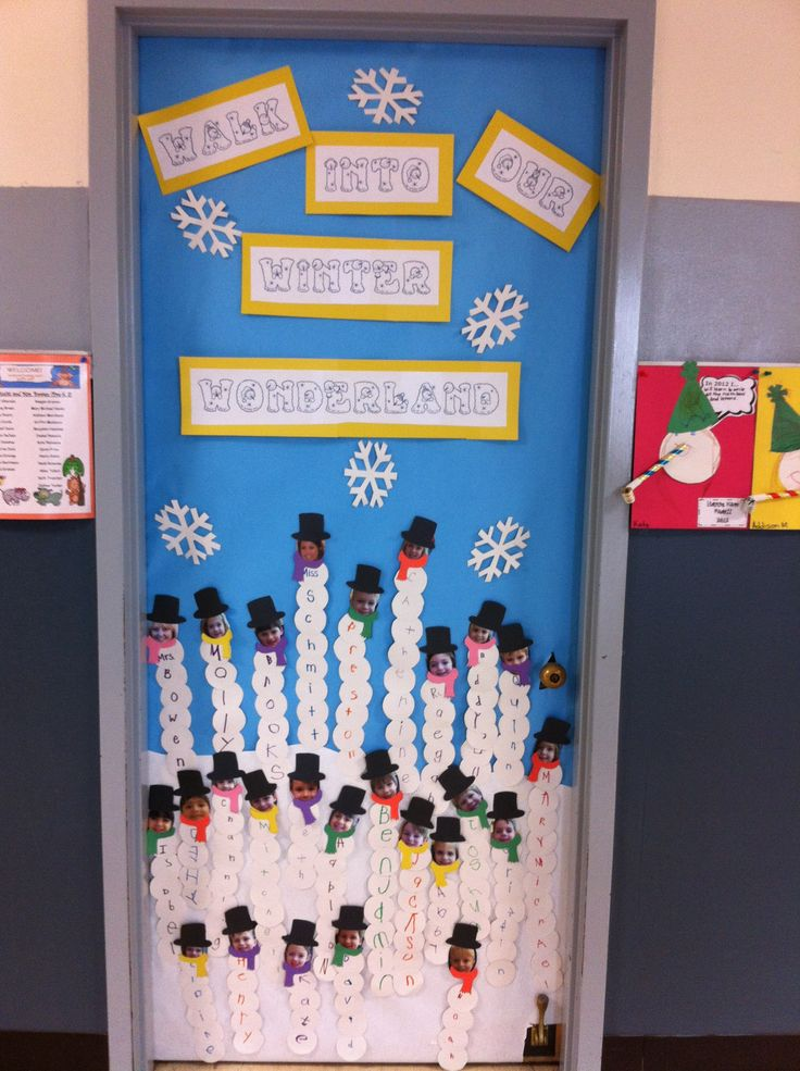 Display Winter Snowman Ideas Window