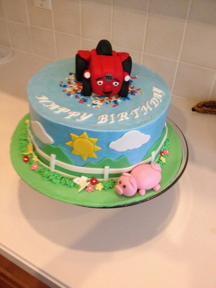 A Fan Favorite Tec The Tractor Birthday Cakes By You
