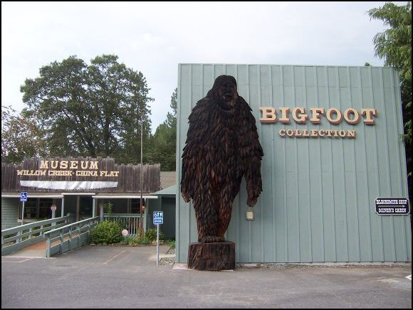 Willow Creek Bigfoot Museum