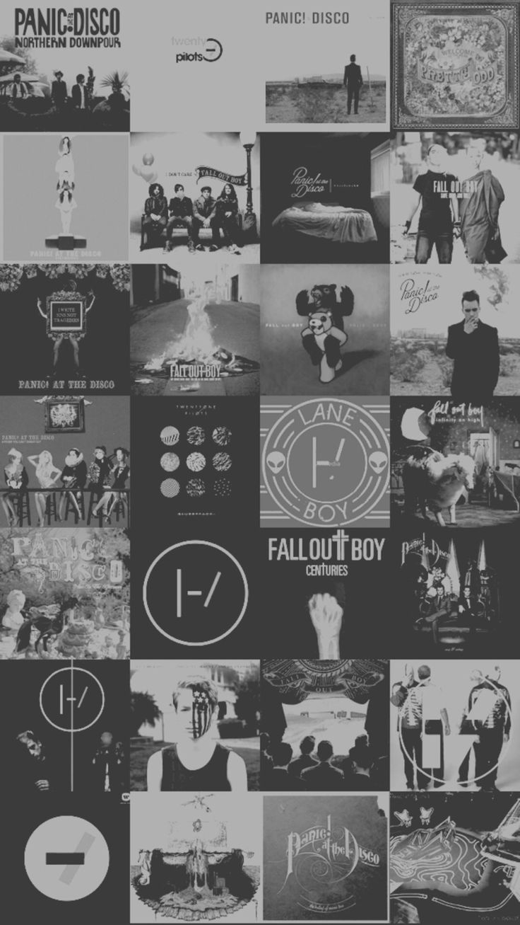 Fall Out Boy Logo White Background