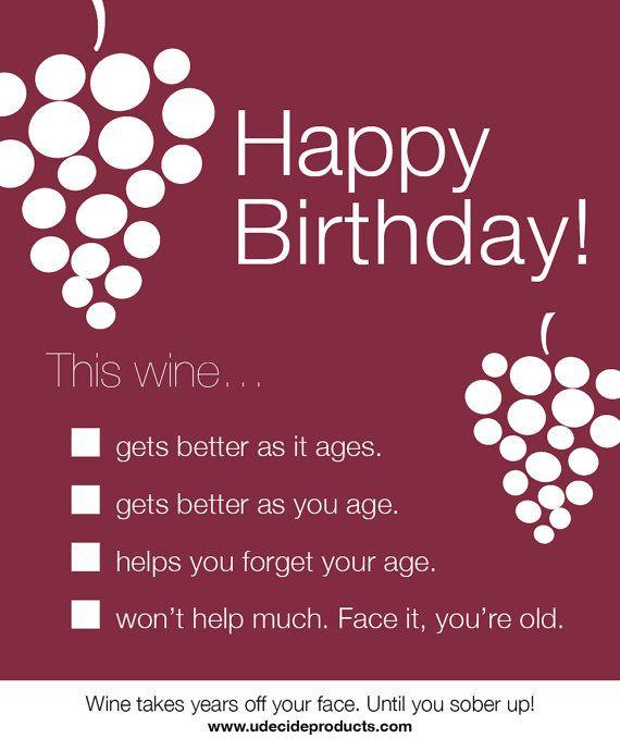 Age Jokes Birthday Cards