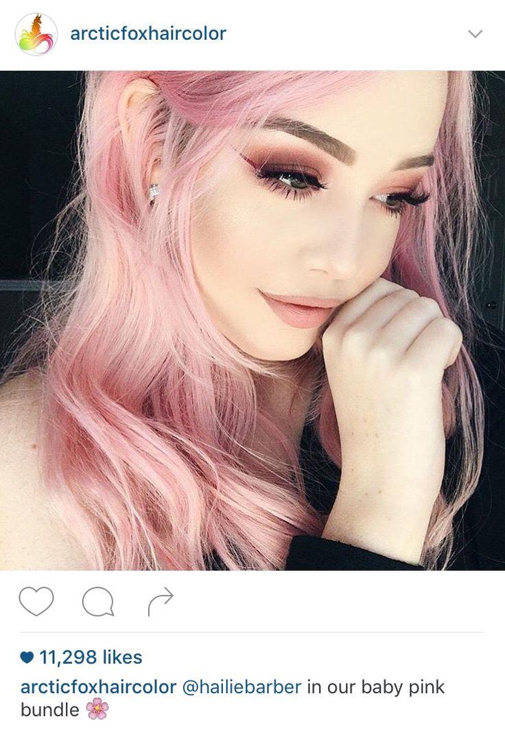 Arctic Fox Hair Dye Colors