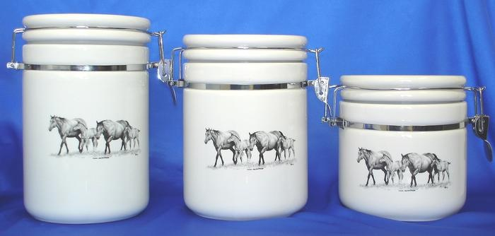 Old Tin Canister Sets