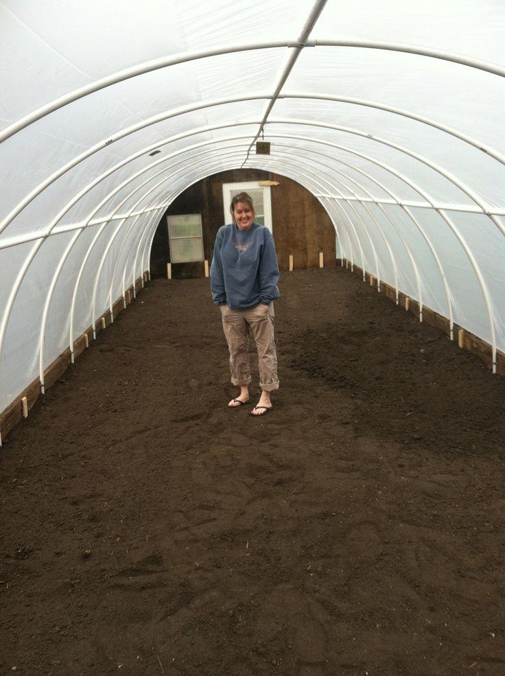 How Build Garden Hoop House