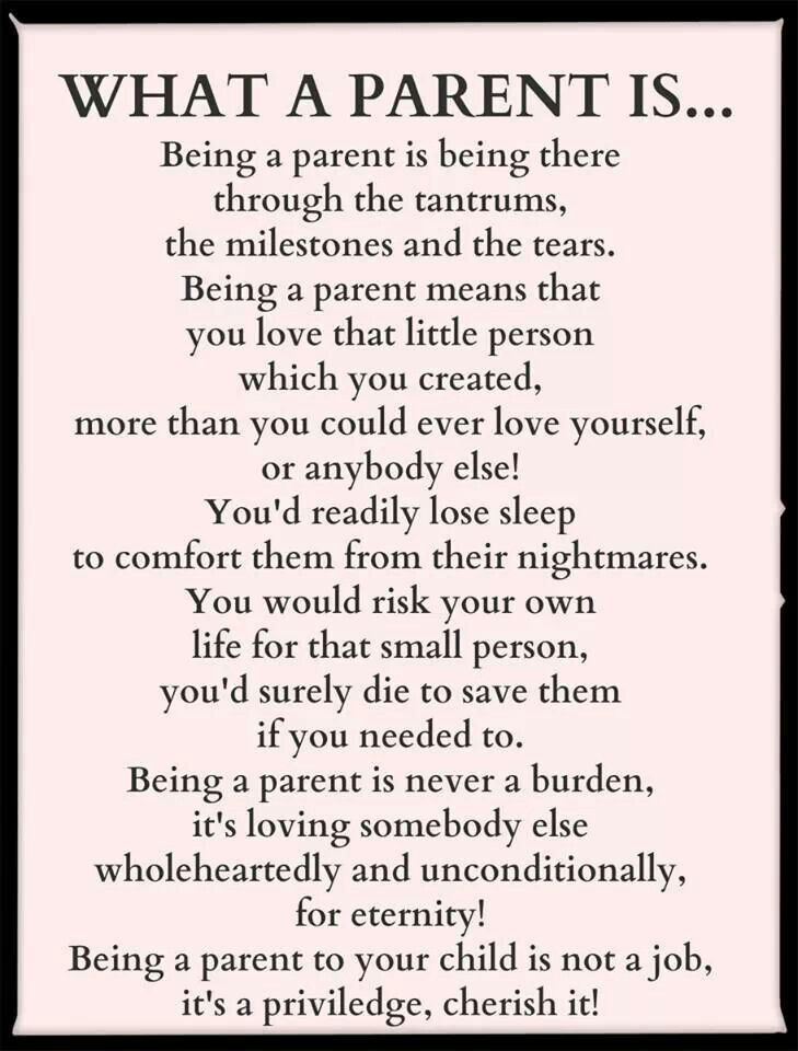 Unconditional Love Parenting Quotes