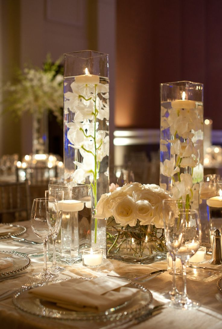Table Arrangements Wedding Reception