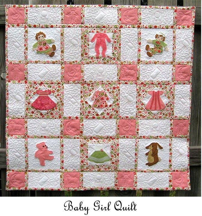 Fabric Patterns Sock Monkey Quilt Made
