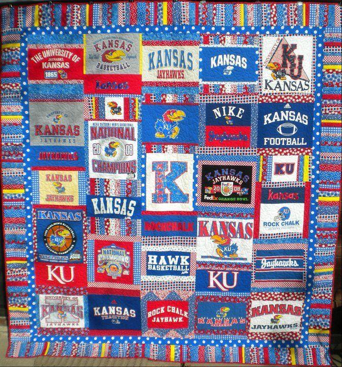 T Shirt Quilt Kansas City