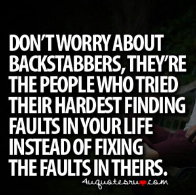 And Quotes Friends About Backstabbers Fake