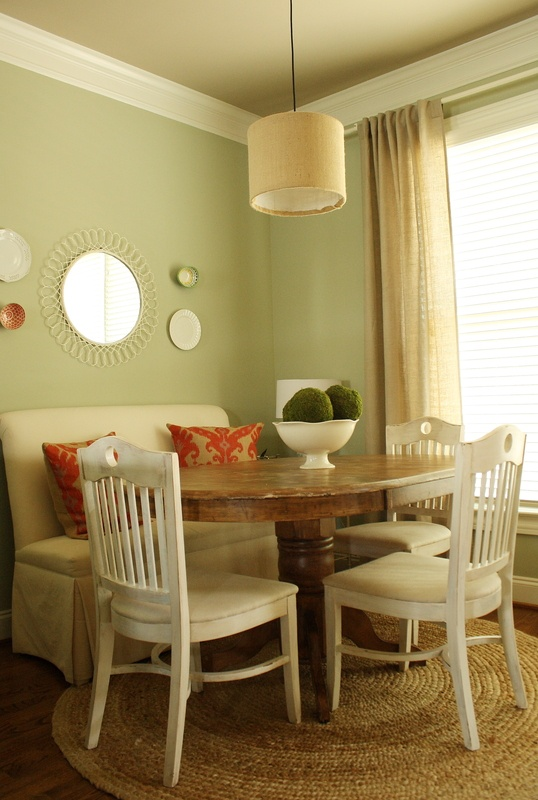 Kitchen Table Need A Print Settee Amp Different Colored