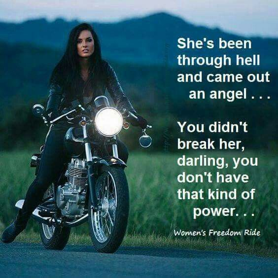Motorcycle Quotes Girls