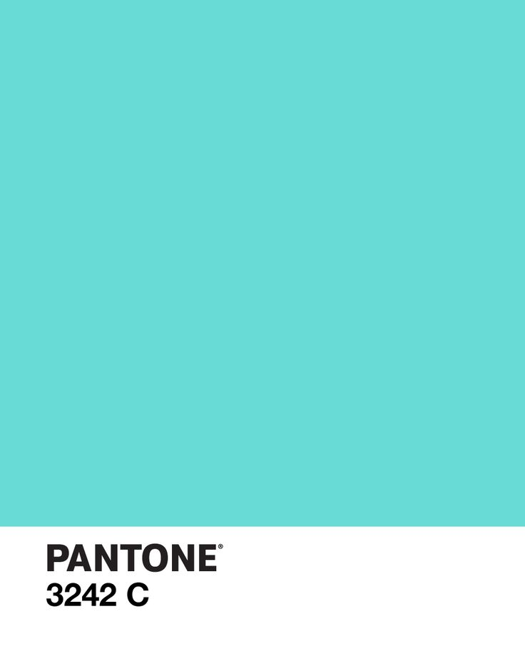 Pantone 3242 C Color Design Aqua Beautiful Things
