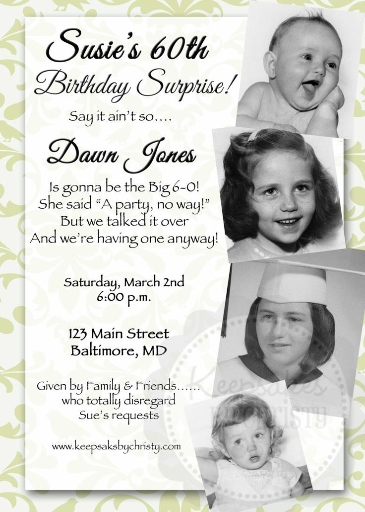 Birthday Invitations 95 Year Old
