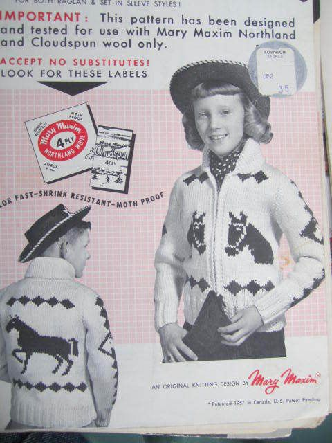 Discontinued Mary Maxim Patterns