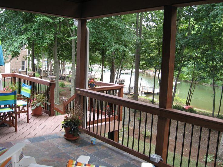 Deck Railing 6x6 Posts