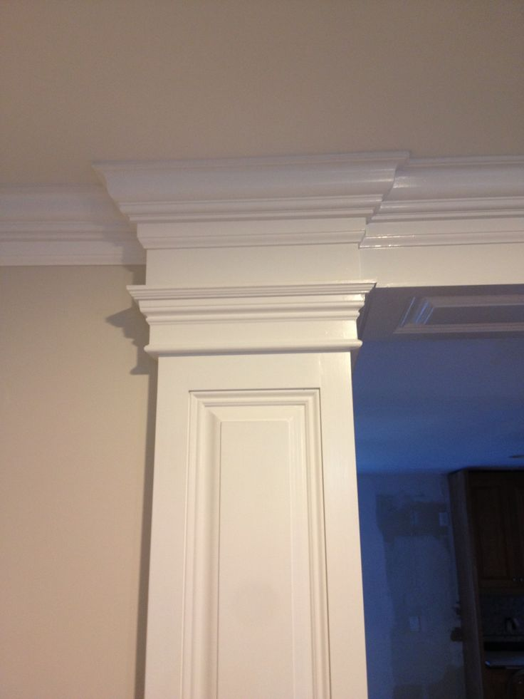Columns Hide Laundry Vent Behind Bulkhead Covered With