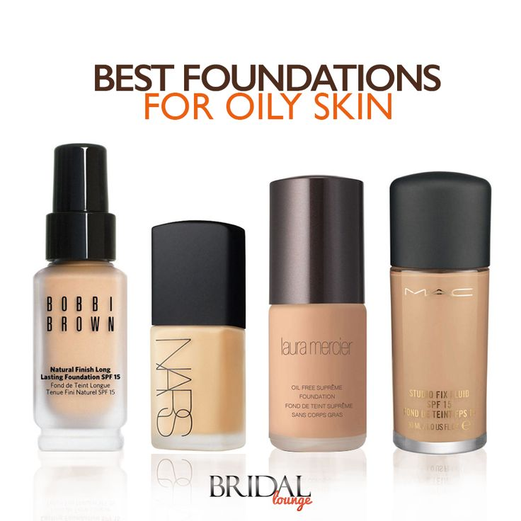 Foundation After Skin And Oily Cosmetics