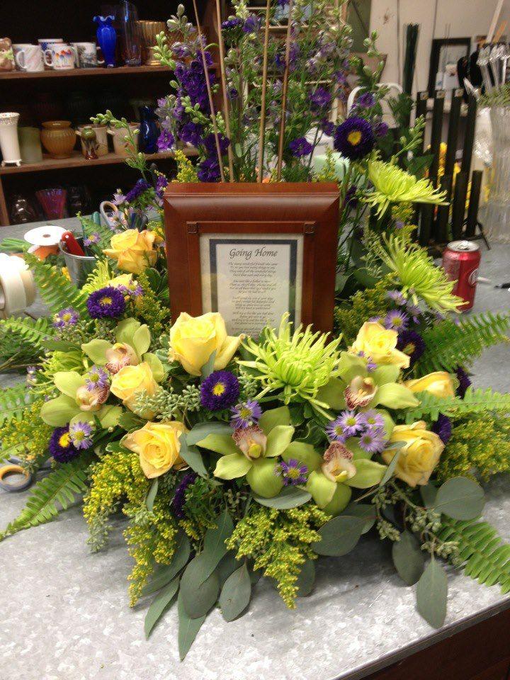 Funeral Table Arrangements