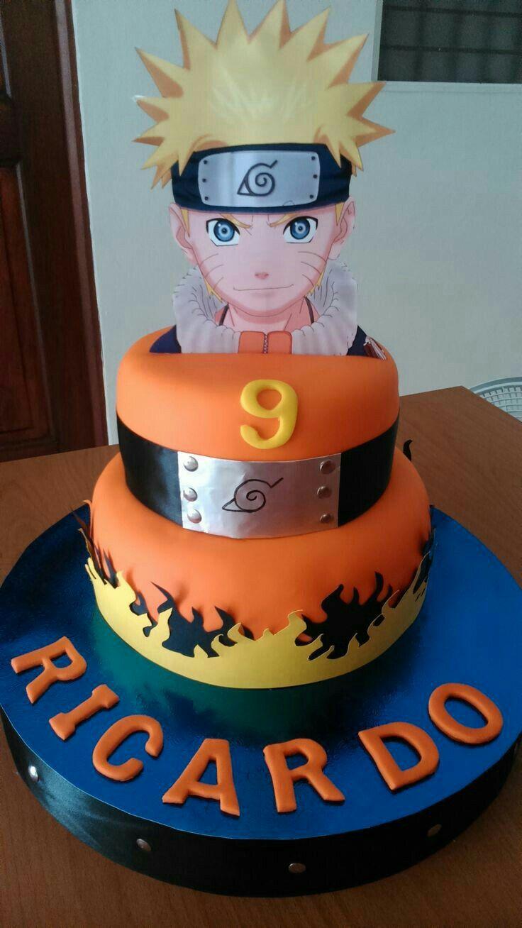 Uzumaki Naruto Cake Naruto Anime Food Anime Food