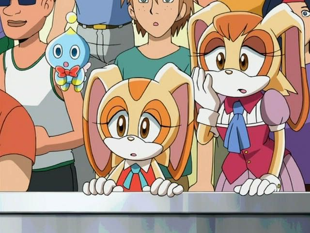 Cheese Rabbit Sonic Cream X
