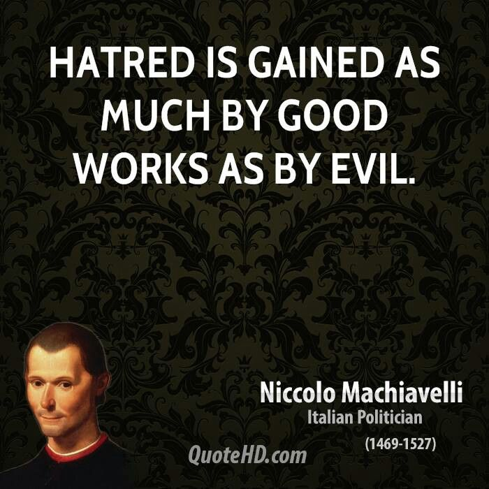 Famous Quotes Machiavelli Prince S