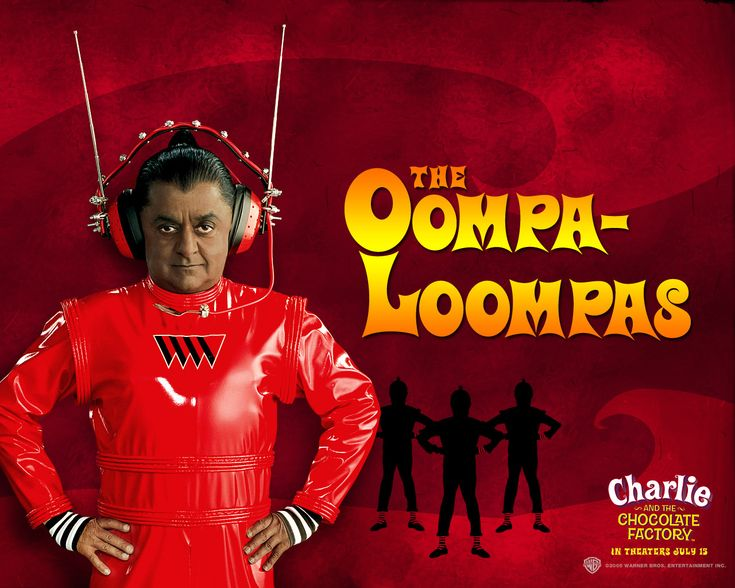Chocolate Oompa Loompa Factory Charlie 2005 And