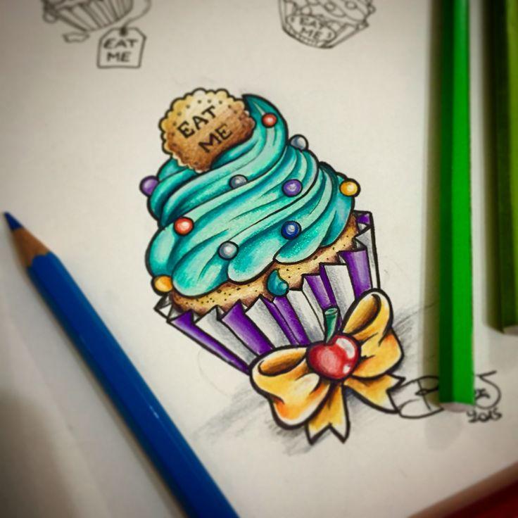 Zombie Cupcake Cake