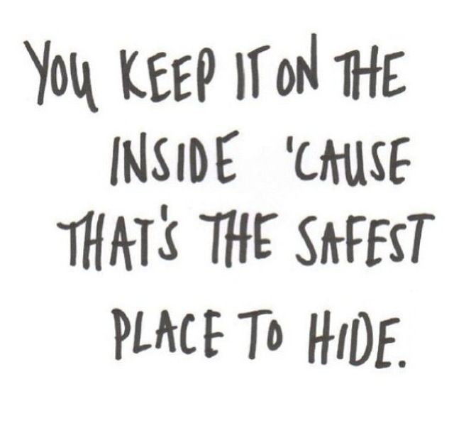 Men Hiding Depression Quotes