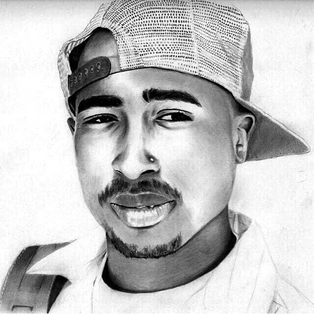 50 Tupac Draw Cent Tattoos