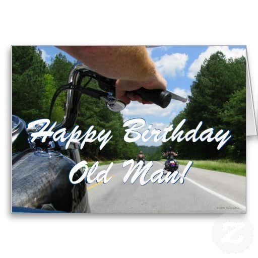 Biker Cards Birthday Funny