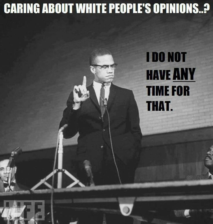 White People Malcolm X Quotes