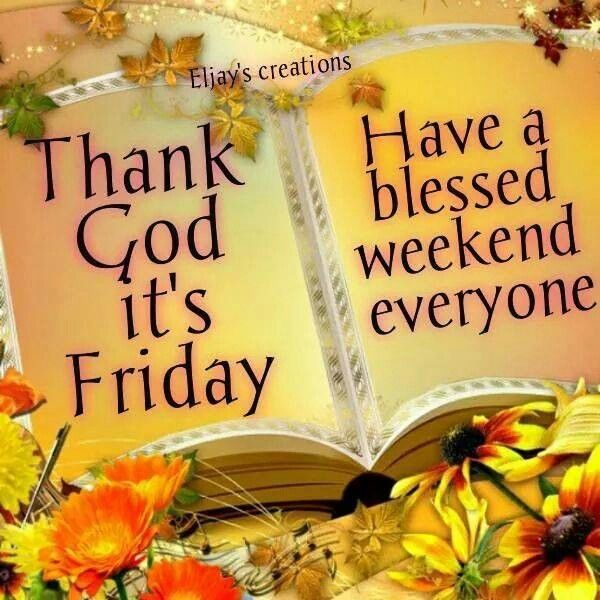 Have Blessed Friday