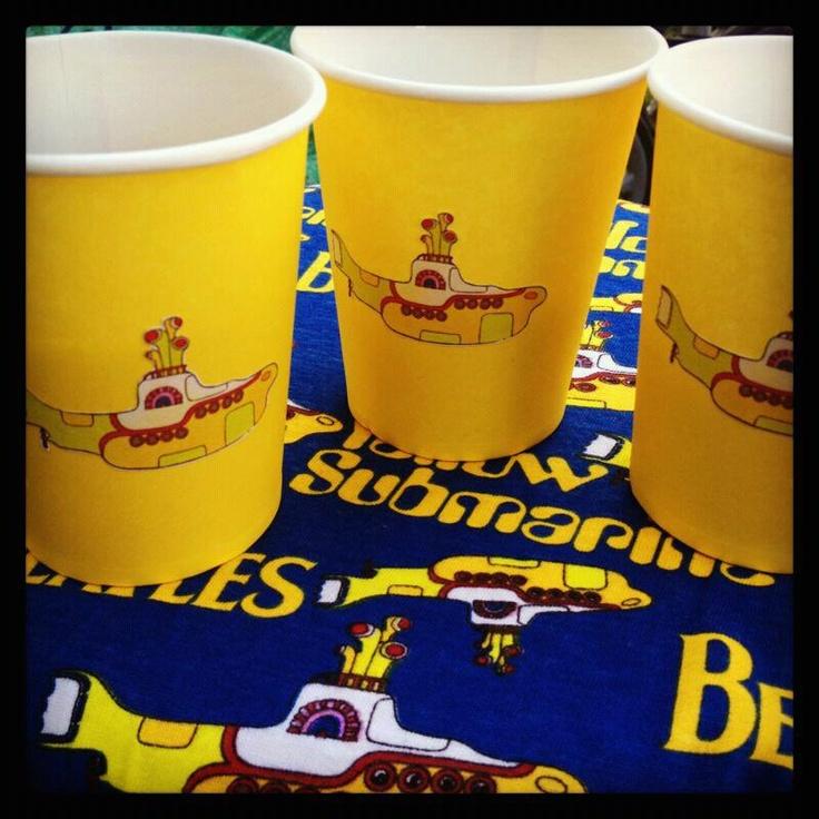 Party Decorations Yellow Submarine