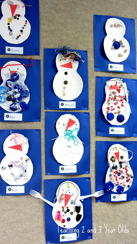 Winter Crafts Third Graders