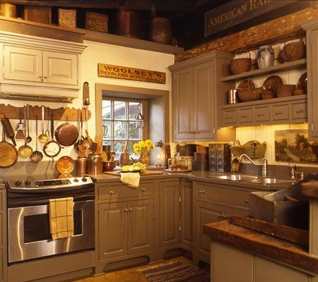 Country Kitchen Showcase Country Sampler House And