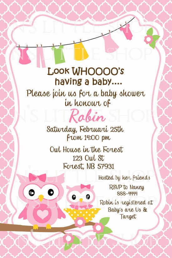 Cheap Sprinkle Invitations