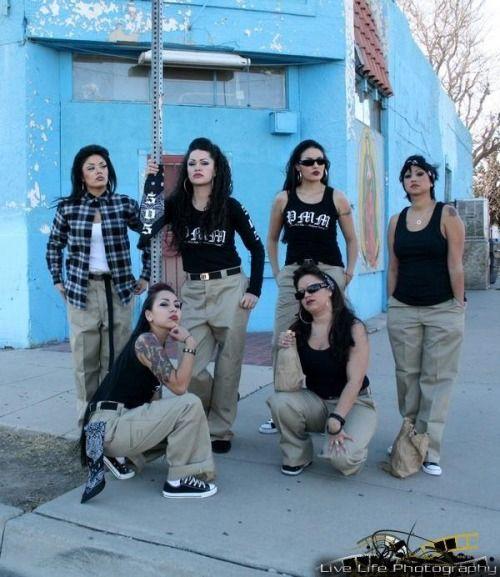 Cholas Mexican Lowrider Girls