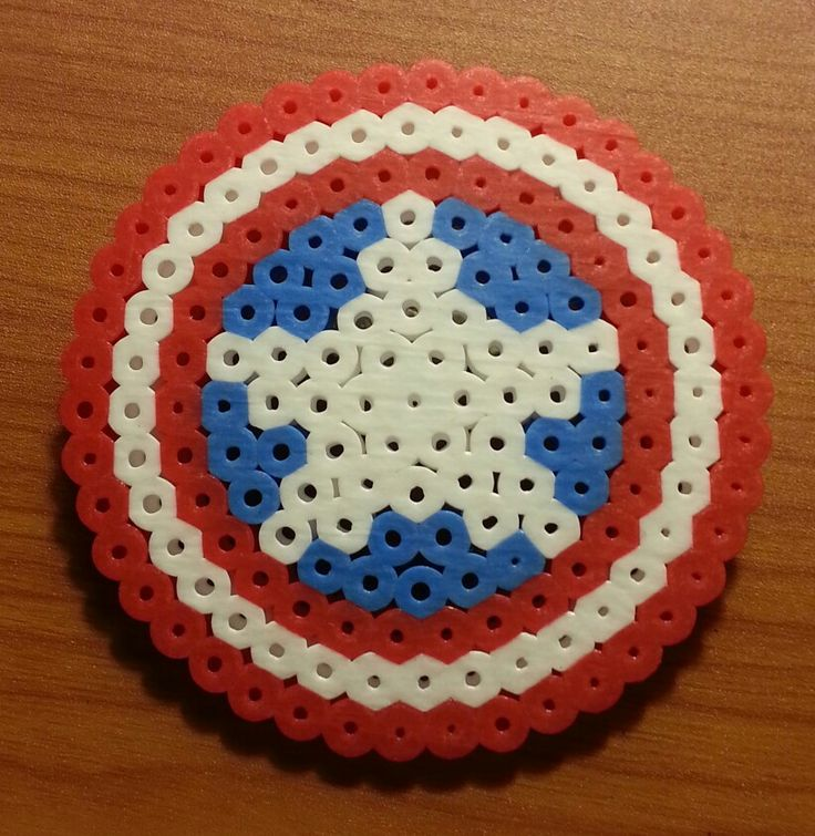 Captain America Shield Pattern