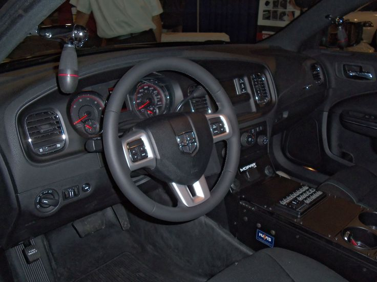 2012 Dodge Charger Interior Lighting