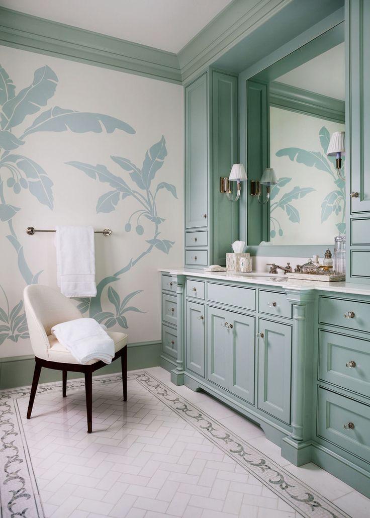 Bathroom Decor Mint Green