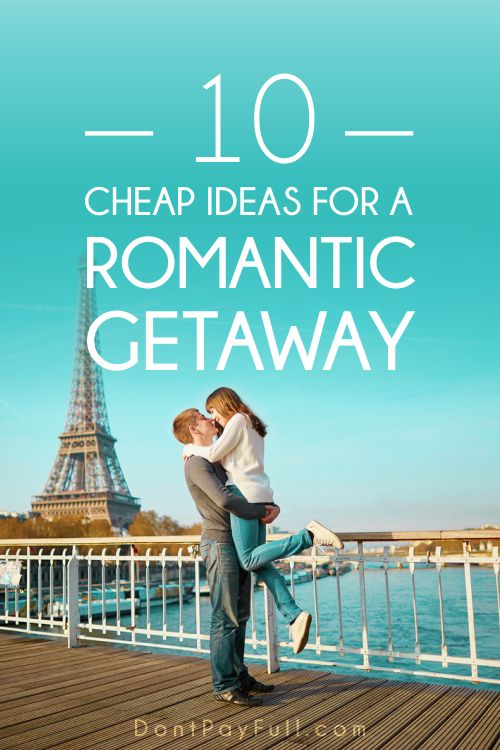 Inexpensive Honeymoon Getaways