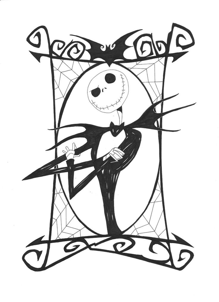 nightmare before christmas silhouette - Google Search ...