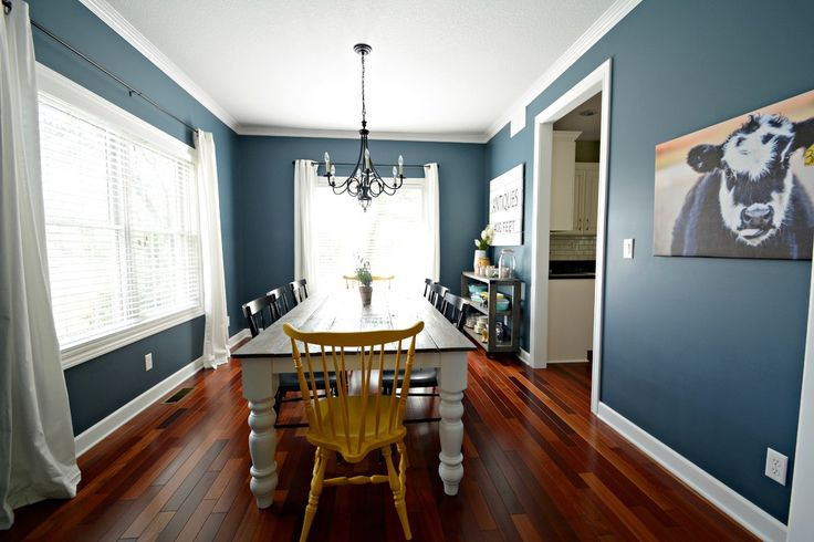Then And Now Dining Room Colors The Wall And Living