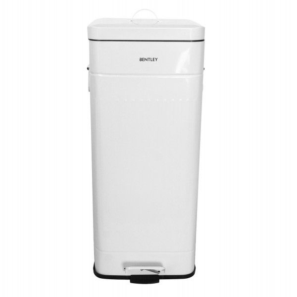 White Kitchen Bin 30l