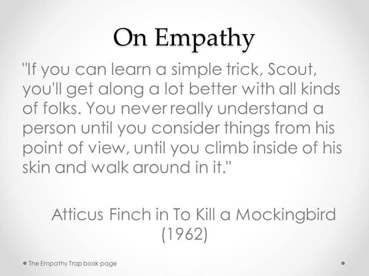 to kill a mockingbird empathy quotes