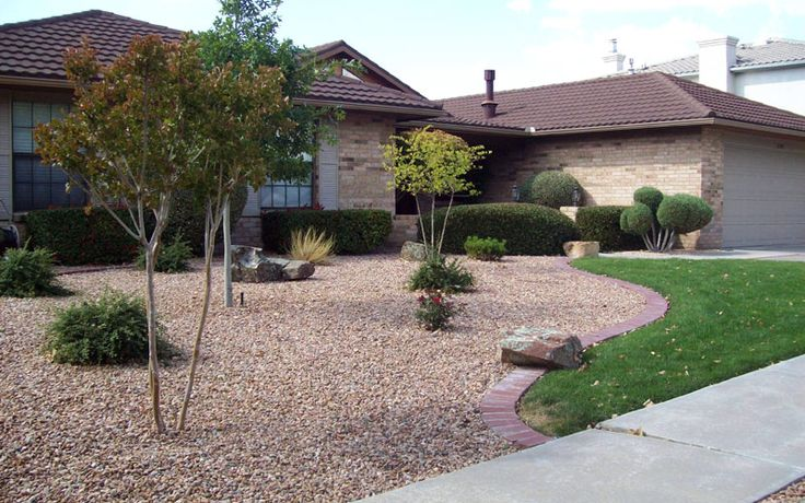 Front Yard Xeriscape Ideas Residential Landscape